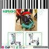 Flughafen-Gepäck-Laufkatze für Speicherung mit Handbremse