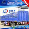 3 MultiFuncties 40ft van assen Flatbed Container die Semi Aanhangwagen schermen