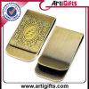 Clip retro del dinero de metal del diseño del cliente 2.o