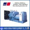 conjunto de generación diesel de la alta calidad sin cepillo 2500kVA