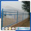 La cerca hermosa del hierro labrado de la seguridad de la alta calidad con el polvo cubrió