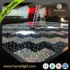 Planta alumium Edge LED de acrílico iluminado por las estrellas de la danza