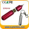 Logotipo personalizado Mini pluma de memoria en disco, unidad flash USB (EM048)