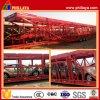 Remorque squelettique de transporteur de véhicule de 2 essieux/remorque transport de véhicule