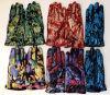 Перчатка полного перста способа моды женщин кожаный перчаток Windproof напечатанная кожаный