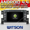 Witson Android 4.4 Car DVD para Suzuki Grand Vitara com A9 o Internet DVR Support da ROM WiFi 3G do chipset 1080P 8g
