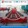 Kapazität 200 Tonne 250 Tonnen-halb Schlussteil-hydraulischer niedriger Bett-halb Schlussteil-modularer Schlussteil-multi Wellen-Schlussteil