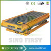 2ton 1m Stationary Hydraulic Wood Roller Table Conveyor Lift