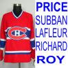 Hokey di ghiaccio Jersey Montreal Carey, Subban rosso, CCM tipo Lafleur ecc
