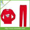 Ropa de noche polar micro del paño grueso y suave de las muchachas (pijamas)