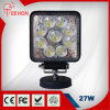 27W Epistar Waterproof Spot 또는 Flood Beam LED Work Light