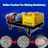 Máquina de fractura de piedra del rodillo doble del fabricante de la trituradora