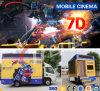Cine móvil del carro flexible caliente 5D 7D de la venta