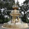 Squareplace (SY-F020)のためのベージュ石造りの彫刻水噴水