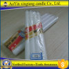 Bougie blanche blanche de prix usine de bougie de ménage pour l'éclairage à la maison