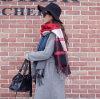Sciarpa spessa del cachemire delle sciarpe dello scialle di stile del poncio di modo delle signore