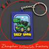 PVC Keyring Custom Cortoon 2D Soft промотирования