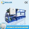 Koller 5000kg par machine automatique de bonne qualité de bloc de glace de jour
