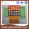 Поворачивая инструмента CNC карбида Indexable и филируя вставки