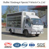 Euro4 Isuzu Caminhão de publicidade móvel com boa qualidade