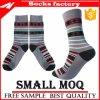 Der Winter modisch fertigen Blatt-Muster-Mann-Socken kundenspezifisch an
