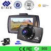 Видеокамера WiFi камеры черточки объектива ночного видения двойная