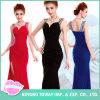 Дешевые он-лайн приспособленные отбортовывая платья партии выпускного вечера безрукавный шарика Mermaid официально красные для женщин