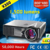 Long Lamp Life 1500 Lumens HD LED Mini Projector