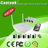 4CH H. 265 4MP imperméabilisent le nécessaire de la chaîne 200m NVR de WiFi (WIFIPG498RH400)