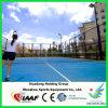 Superficie del campo de tenis, suelo de goma prefabricado, material del rodillo