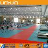 Gimnasia, deporte, suelo usado del PVC del centro de aptitud, suelo del vinilo, azulejo del tablón del vinilo