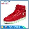 Klassieke Rode LEIDENE van de Vrouwen van de Laarzen van de Sporten van de Manier Schoenen