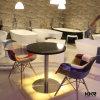 Таблица и стулы трактира мебели столовой искусственние мраморный