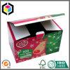 رفاهية تصميم عالة لون عيد ميلاد المسيح ورق مقوّى هبة يعبّئ صندوق