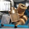 Puleggia di alluminio d'acciaio della cinghia di sincronizzazione del ghisa del passo imperiale metrico del passo