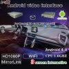 Neueste Vierradantriebwagen-Kern Audiovideoschnittstellen-androide Navigationsanlage, damit Mazda-Support auf Kopfstützen-Monitor anzeigt