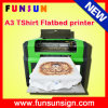 Impressora Multifunction do DTG do tamanho A3, preços da máquina de impressão do t-shirt, impressora do leito do DTG
