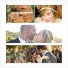 ロマンチックな結婚式の毛のアクセサリのヘアピンの花嫁の天飾り