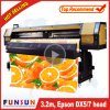 Hot Funsunjet venta Fs-3202g 3.2m / 10FT al aire libre Impresora Flex de formato grande con dos cabezas Dx5 1440dpi