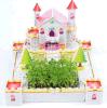 Het nieuwe Model van de Hut van de Liefde van de ontwerp 3D Puzzel Roze