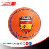Spanien-orange Farben-Schaumgummi Belüftung-Spiel-Fußball-Kugel