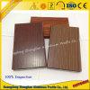 Perfil de aluminio de la protuberancia del grano de madera de la capa del polvo para la decoración