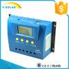24h-Backlight contrôleur G80 de régulateur de batterie solaire de l'affichage à cristaux liquides 80A 12V 24V