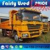 Shacman 팁 주는 사람 트럭의 사용된 Shacman F3000 Delong 덤프 트럭