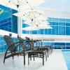 Poolside esterno Sunbed della mobilia del nuovo di disegno rattan superiore del PE con il prezzo competitivo
