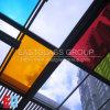Farbiges lamelliertes Glas/doppeltes Sicherheitsglas des Glas-/