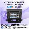SpecailシトロエンC-Crosser (SD-6402)のユーゴ車DVD GPSプレーヤー