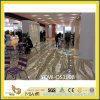 Bianco & Yellow Translucent Cesalpina Onyx Stone Slabs per Flooring
