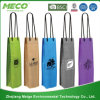 Form Wine Kraftpapier Paper Promotional Bag für Shopping Packaging Gift Package (MECO195)