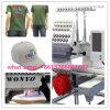 La machine 2016 compacte principale simple de broderie de machine commerciale de broderie de pointeaux de Wonyo 15 pour le chapeau, T-shirt a terminé la broderie de chaussures de vêtements